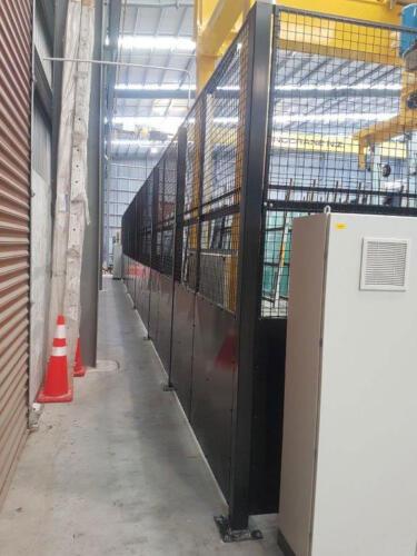 3 mtr high Industrial guarding