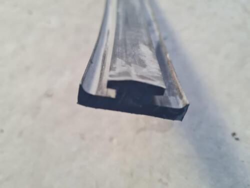 Glass rubber extrusion