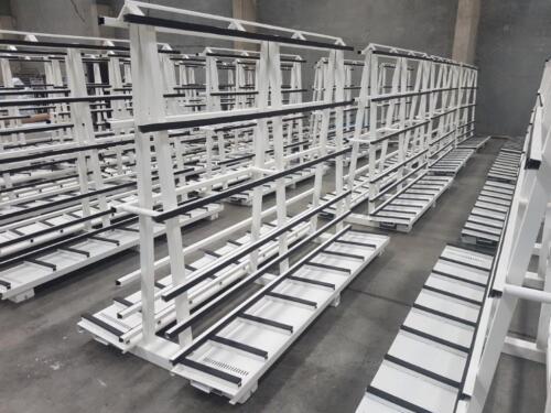 Glass trolleys