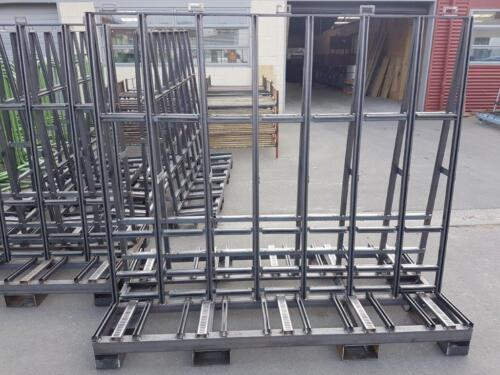 Mobile glass trolley 2