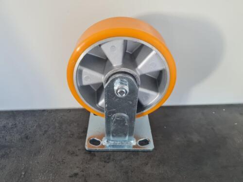 Non braked castor wheel