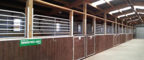 Horse enclosure