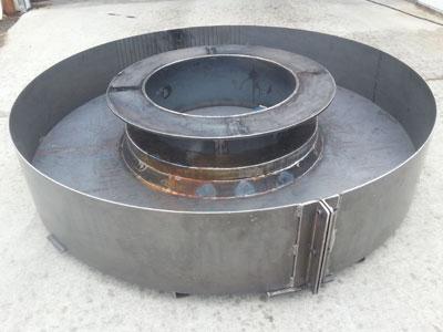 Concrete mold fabrication design